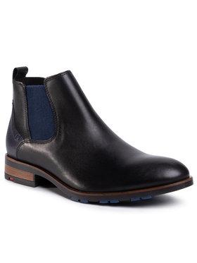 Lloyd Lloyd Členková obuv s elastickým prvkom Jaser 20-562-31 Čierna