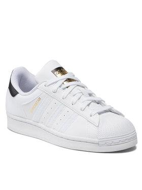 adidas adidas Обувки Superstar J Q47342 Бял