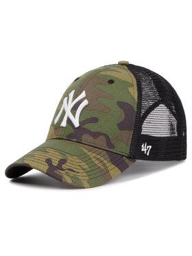 47 Brand 47 Brand Șapcă New York Yankees B-CBRAN17GWP-CMF Verde