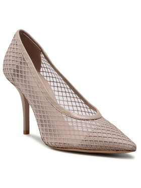 Eva Minge Eva Minge Pantofi cu toc subțire EM-41-09-001076 Bej