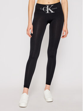 Calvin Klein Jeans Calvin Klein Jeans Colanți 100001871 Negru Slim Fit