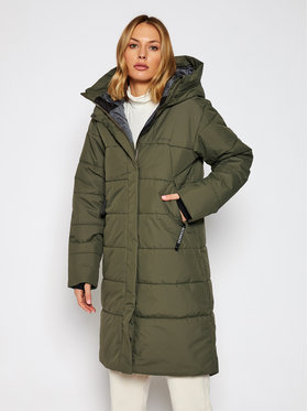 Didriksons Didriksons Parka Tindra 503661 Zielony Relaxed Fit