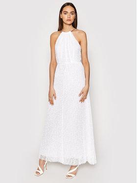 MICHAEL Michael Kors MICHAEL Michael Kors Sukienka wieczorowa MS1806K1D0 Biały Regular Fit