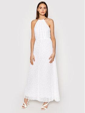 MICHAEL Michael Kors MICHAEL Michael Kors Večernja haljina MS1806K1D0 Bijela Regular Fit