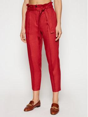 MAX&Co. MAX&Co. Текстилни панталони Ondulato 71311121 Червен Regular Fit