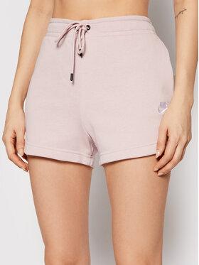 Nike Nike Szorty sportowe Sportswear Essential CJ2158 Różowy Standard Fit