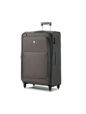 Dielle Dielle Nagy szövetborítású bőrönd 720/70 Szürke