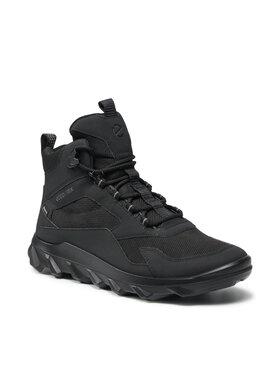 ECCO ECCO Trekingová obuv Mx Low Mid Gtx Tex GORE-TEX 82022451052 Čierna