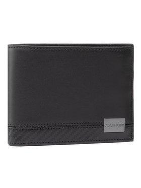 Calvin Klein Calvin Klein Veľká pánska peňaženka Trifold 10Cc W/Coin K50K506913 Čierna