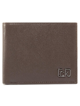 Calvin Klein Calvin Klein Portofel Mare pentru Bărbați Biflod 5Cc W/ Coin K50K505959 Maro