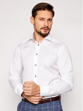 Eton Eton Marškiniai 100003048 Balta Slim Fit