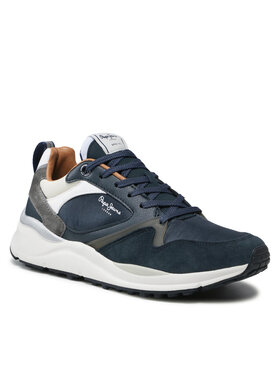 Pepe Jeans Pepe Jeans Sneakersy Trail Back PMS30776 Tmavomodrá