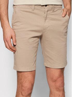 Calvin Klein Jeans Calvin Klein Jeans Bavlnené šortky J30J319061 Béžová Slim Fit