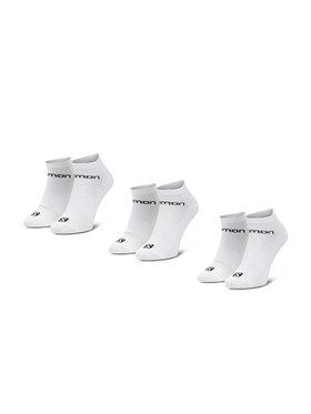 Salomon Salomon Комплект 3 чифта къси чорапи мъжки Live Low 3 Pack 09949 58 E0 Бял