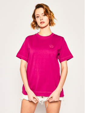 Napapijri Napapijri T-Shirt Silbe NP0A4E9G Różowy Regular Fit