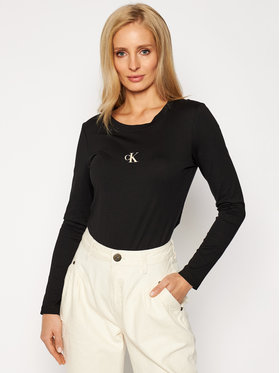 Calvin Klein Jeans Calvin Klein Jeans Halenka J20J214792 Černá Slim Fit