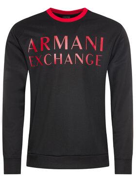 Armani Exchange Armani Exchange Felpa 6GZM97 ZJ4DZ 1200 Nero Regular Fit