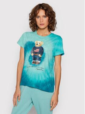 Polo Ralph Lauren Polo Ralph Lauren T-shirt 211843249003 Vert Regular Fit