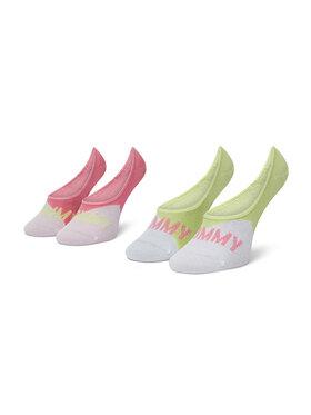 Tommy Hilfiger Tommy Hilfiger Sada 2 párů dětských kotníkových ponožek 100002310 Růžová