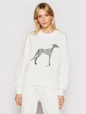 Trussardi Trussardi Sweatshirt 56F00140 Weiß Regular Fit