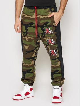 Nike Nike Spodnie dresowe Jordan Jumpman Classics CU2062 Zielony Standard Fit