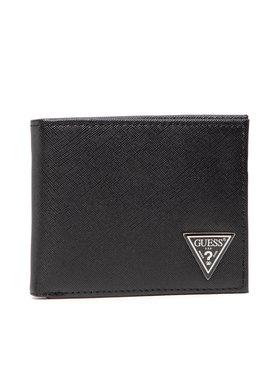 Guess Guess Veľká pánska peňaženka Certosa Slg SMCERT LEA20 Čierna