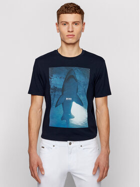 Boss Boss T-shirt TNoah 1 50450911 Tamnoplava Regular Fit