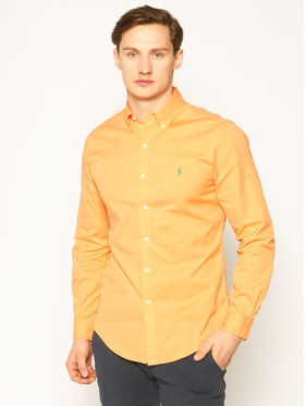 Polo Ralph Lauren Polo Ralph Lauren Koszula Classics 710794604 Pomarańczowy Slim Fit