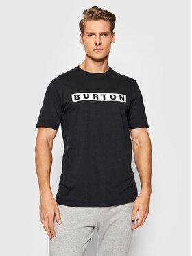 Burton Burton T-Shirt Vault 20376105001 Czarny Regular Fit