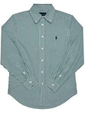 Polo Ralph Lauren Polo Ralph Lauren Košile Ls Bd 321798998003 Zelená Regular Fit