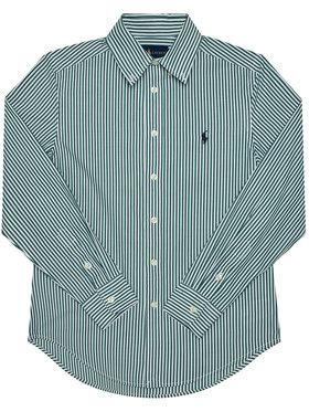 Polo Ralph Lauren Polo Ralph Lauren Риза Ls Bd 321798998003 Зелен Regular Fit