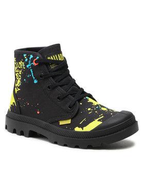 Palladium Palladium Ορειβατικά παπούτσια Hi Explore U 77051-008-M Μαύρο