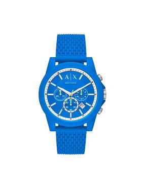 Armani Exchange Armani Exchange Hodinky Chronograph AX1345 Modrá