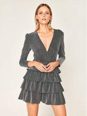 IRO IRO Koktejlové šaty Revert AN077 Černá Slim Fit