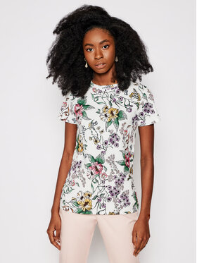 Marella Marella T-Shirt Trani 39710514 Bílá Regular Fit
