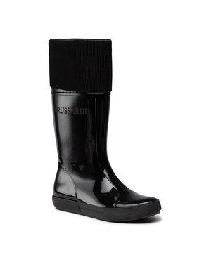 Trussardi Jeans Trussardi Jeans Bottes de pluie 79A00620 Noir