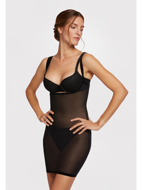 Wolford Wolford Combinette sculptante Tulle 59676 Noir