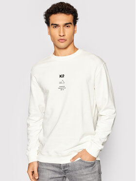 Selected Homme Selected Homme Bluza Albert 16081244 Biały Regular Fit