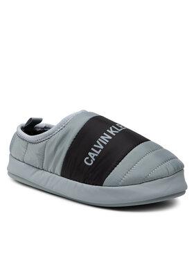 Calvin Klein Jeans Calvin Klein Jeans Bačkory Home Shoe Slipper YM0YM00303 Šedá