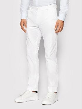 Boss Boss Jeansy Rice3-D 50325936 Biały Slim Fit