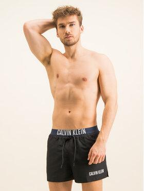 Calvin Klein Swimwear Calvin Klein Swimwear Badeshorts Drawstring Wb KM0KM00460 Schwarz Regular Fit