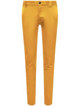Tommy Jeans Tommy Jeans Szövet nadrág Scanton DM0DM06518 Sárga Slim Fit