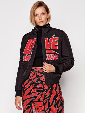 LOVE MOSCHINO LOVE MOSCHINO Bomber striukė WH75201T 042A Raudona Regular Fit