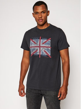 Pepe Jeans Pepe Jeans T-Shirt Brad PM507452 Grau Regular Fit
