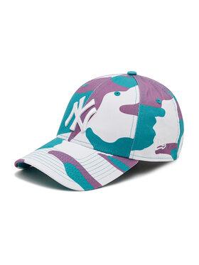 New Era New Era Czapka z daszkiem New York Yankees Camo Pack Teal 9Forty 60137715 Zielony