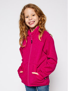 Reima Reima Fleecová mikina Hopper 526355 Růžová Regular Fit