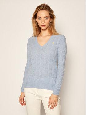 Polo Ralph Lauren Polo Ralph Lauren Sweter Kimberly Wool/Cashmere 211508656064 Niebieski Regular Fit