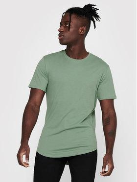 Only & Sons ONLY & SONS T-Shirt Matt Life Longy 22002973 Zelená Regular Fit
