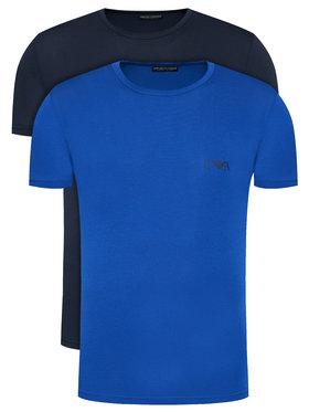 Emporio Armani Underwear Emporio Armani Underwear Set 2 tricouri 111670 0A715 71035 Bleumarin Slim Fit