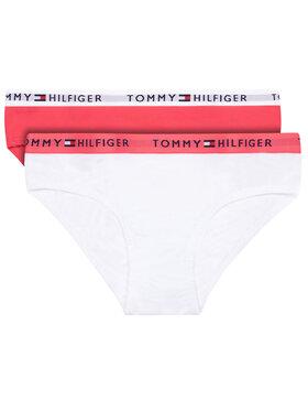 Tommy Hilfiger Tommy Hilfiger Σετ 2 τεμάχια σλιπ 2P Bikini UG0UB90005 Λευκό Regular Fit